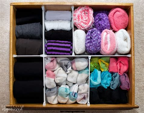 Sock Drawers by Organized Sock Drawer