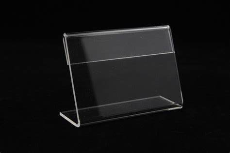 Acrylic Table L Acrylic T1 3mm Small Sign Clip L Label Tag Frame Table Sign Price Tag Label Display Paper Name