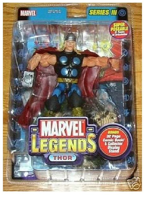 Marvel Legend Thor Series 3 marvel legends thor classic toybiz 70159 series