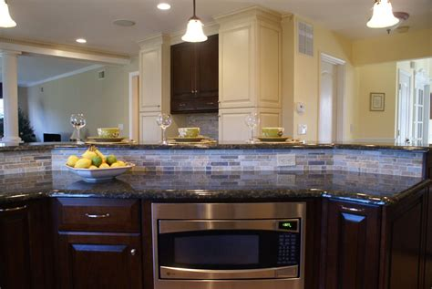 Two Tier Kitchen Island Designs by Power Grommets In Kitchen Islands Design Build Pros