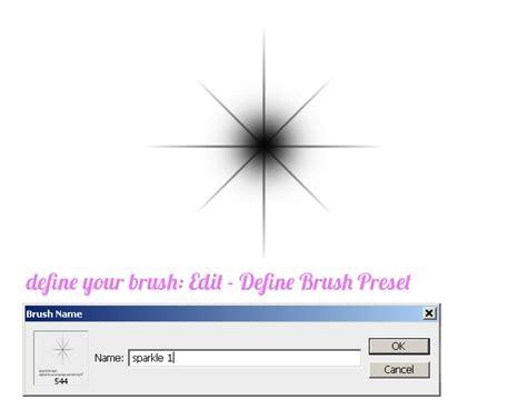 define pattern in photoshop create sparkle brushes in photoshop photoshop tutorial