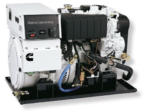 onan marine qd  kw space saver generator cummins