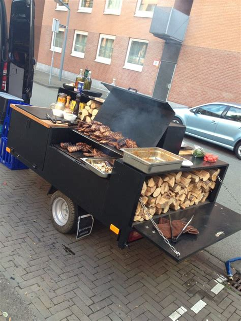 Mobile Pit Rock And Roll Mobile Bbq Voldaan Sr Bbq Grill