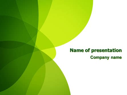 themed powerpoint templates green theme presentation template for powerpoint and