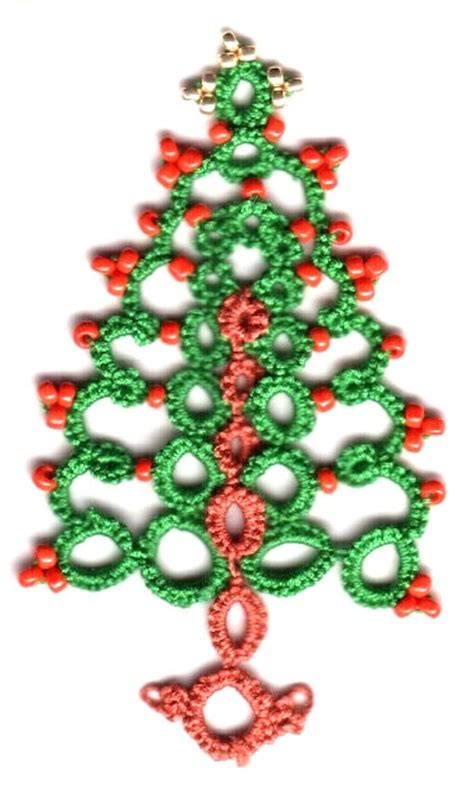 christmas tree tatting pattern 1000 images about tatted trees on pinterest tatting