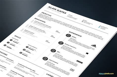 Cover Letter Template Psd Professional Resume Cover Letter Template In Ms Word Psd Zippypixels