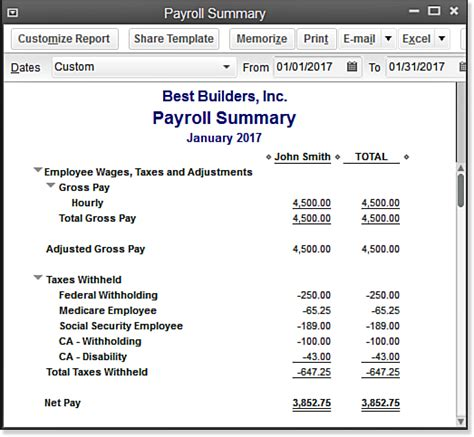 sle payroll reports payroll summary report template 28 images 14 exception