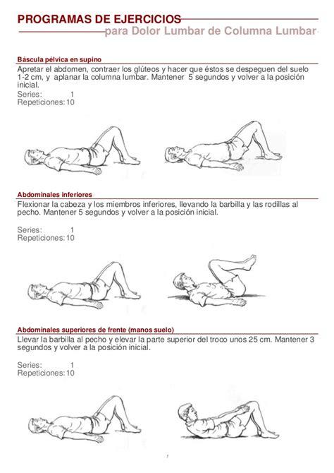 la columna de la 8416771952 ejercicios basicos columna lumbar