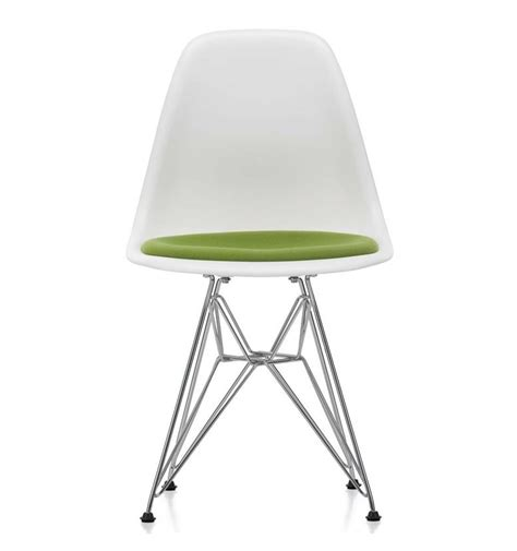 vitra eames chair dsr vitra eames dsr upholstered seat side chair white