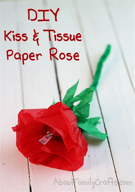 How To Make Tissue Paper Roses Easy - diy and tissue paper roses