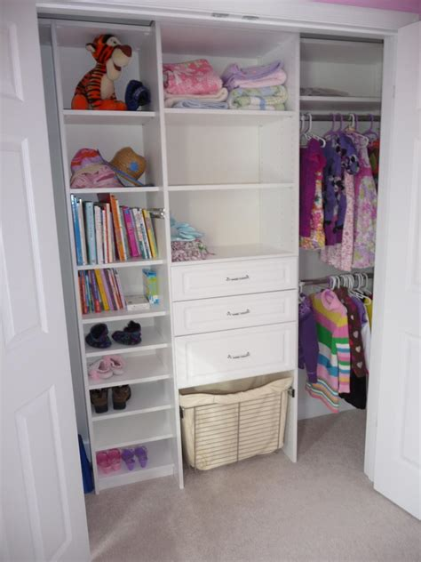 Tailored Living Closets by 20 Small Closet Organization Ideas Hgtv