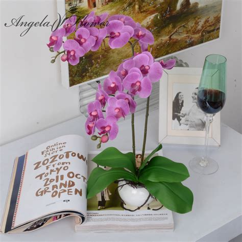 aliexpress buy one set phalaenopsis artificial