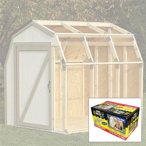 Diy Shed Kits by 2x4 Basics Diy Shed Kit Barn Roof Style Kennesaw Cutlery