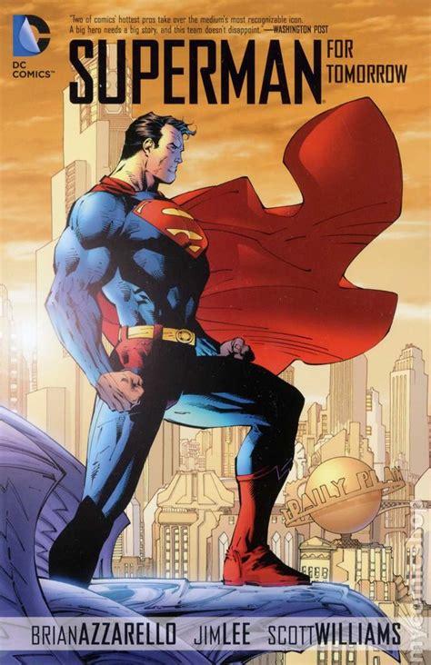 Superman For Tomorrow Tp Azzarello Dc Comic Komik Book Us Superman For Tomorrow Tpb 2013 Dc Complete Edition Comic