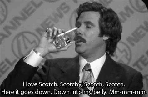 Ron Burgundy Scotch Meme - ron and scotch gifs find share on giphy