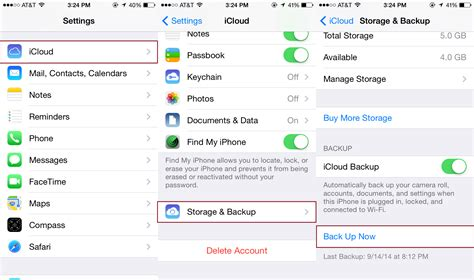 Iphone Icloud Backup How To Install Ios 8 Digital Trends