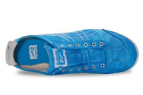 Po Onitsuka Tiger Mexico 66 Paraty Slip On Canvas White Pattern onitsuka tiger mexico 66 slip on blue shoes d5n6n 4201