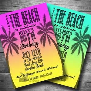 best 25 beach party invitations ideas on pinterest swim