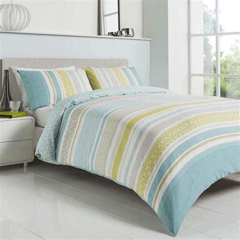 Duck Egg Blue Duvet Sets Duck Egg Blue Striped Duvet Cover Set Stripe Bedding
