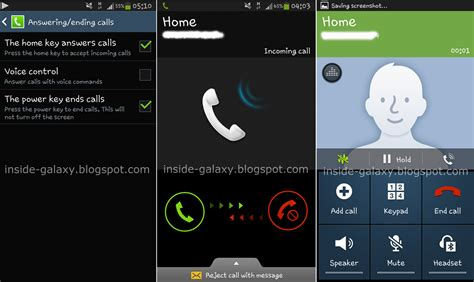 samsung call samsung galaxy s4 how to answer reject and end a call