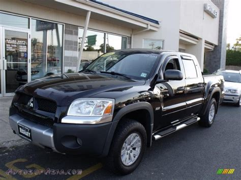 how cars engines work 2007 mitsubishi raider parking system 2006 mitsubishi raider durocross double cab 4x4 in carbide black 580135 autos of asia