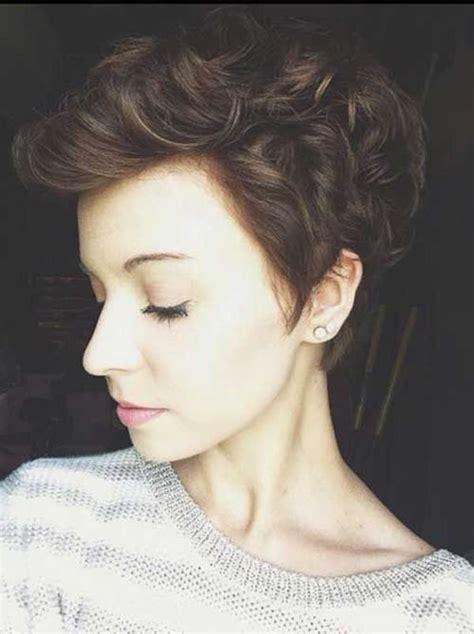 Curly Pixie Cut Hairstyles by 66 Pixie Cuts For Thick Thin Hair Style Easily
