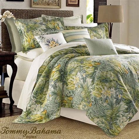 tropical themed comforter sets cuba cabana tropical comforter bedding by tommy bahama