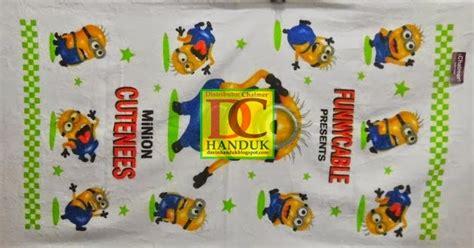 Handuk Chalmer Baby Printing handuk harga pabrik davin handuk handuk chalmer