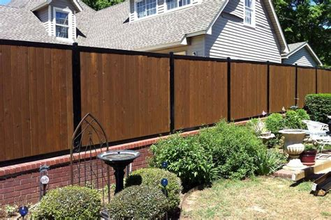 gallery  residential commercial privacy fence ideas