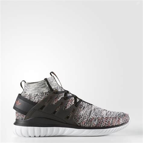 Adidas Tubular Primeknit Black tubular primeknit shoes