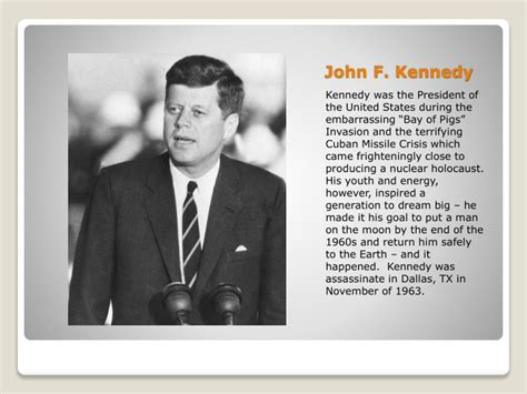 biography john f kennedy ppt ppt president s day trivia challenge powerpoint