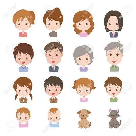 family clipart family faces clip 101 clip