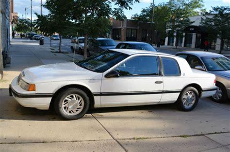 transmission control 1990 mercury cougar security system 1990 mercury cougar ls sedan 2 door 3 8l for sale photos technical specifications description