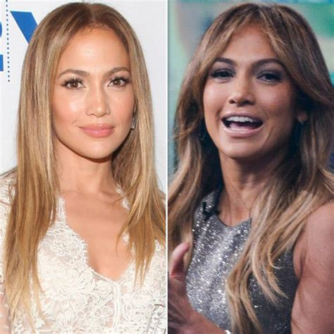 women with bangs before and after jennifer lopez gets bangs instyle com