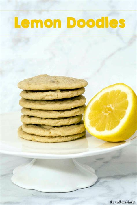 When You Lemons Doodles - lemon doodles by the baker