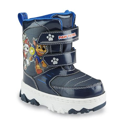 toddler boys winter boots nickelodeon toddler boy s paw patrol blue snow boot