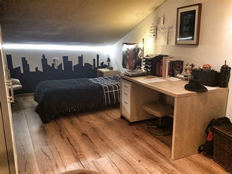 iluminacion habitacion juvenil habitaci 243 n juvenil skyline en negro con iluminaci 243 n de