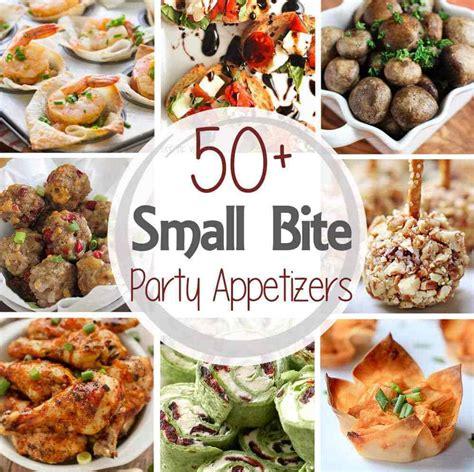 50 small bite party appetizers julie s eats treats