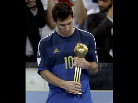 2014 world cup golden ball winner did lionel messi maradona slams fifa for selecting messi for golden ball