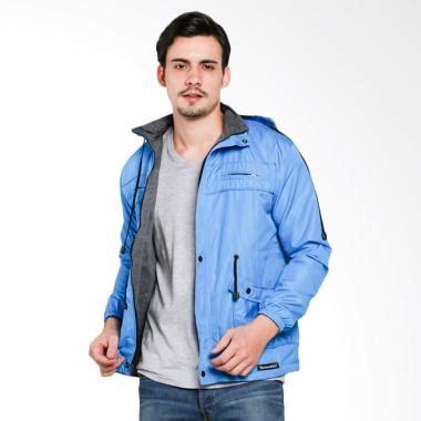 Jaket Dc Pria 2 In 1 jual vm parka bolak balik 2 in 1 jaket pria biru muda harga kualitas terjamin