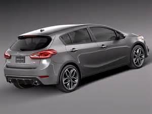 Kia Hatchback Models Kia Forte Hatchback 5door 2014 3d Model Max Obj 3ds Fbx