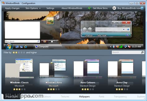 computer themes exe download windowblinds 10 65 filehippo com