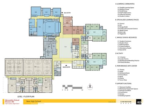 high school floor plan colorful high school floor plans pictures to pin on