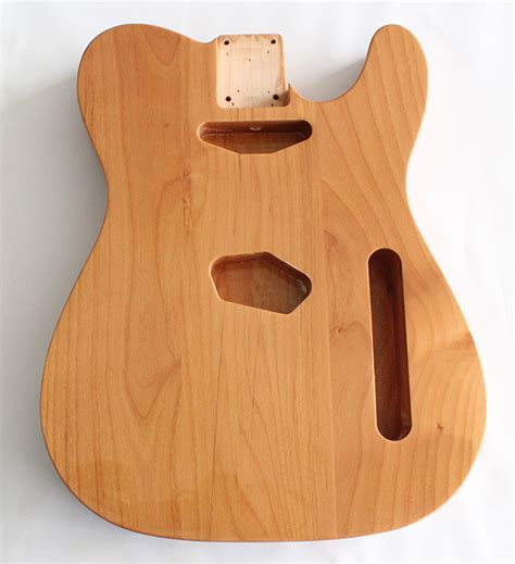 alder wood tele guitar alder wood gloss finish not