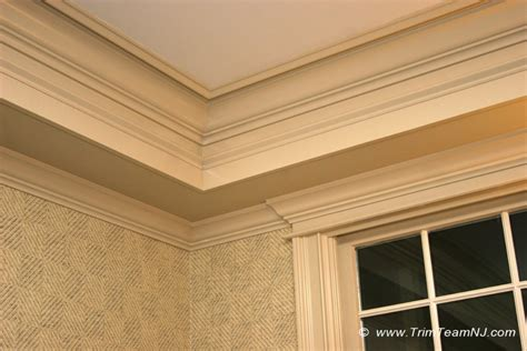 Coffered Ceiling Molding by Windows Door And Crown Mouldings Trim Team Nj