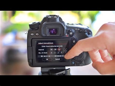 canon 80d tutorial how to make a timelapse video youtube