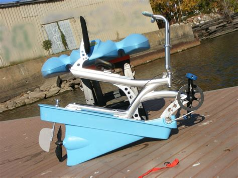 bicycle paddle boat 1 person water bikes water bicycle hydrobike for fishing