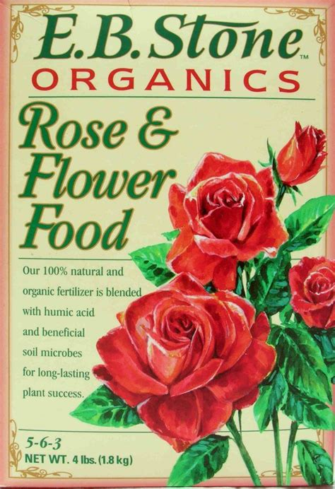 all natural flower food e b stone organics all natural rose flower food 5 6 3