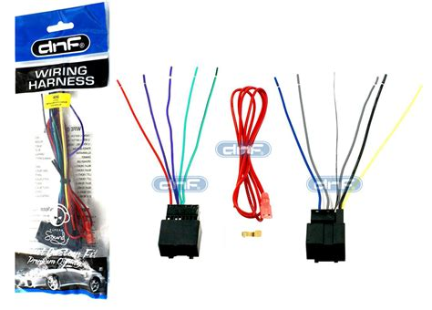 aftermarket wiring harness stereo adapter