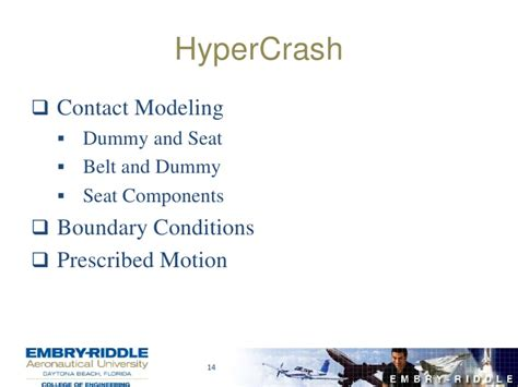 erau aerospace engineering flowchart finite element modeling and testing of aerospace seats
